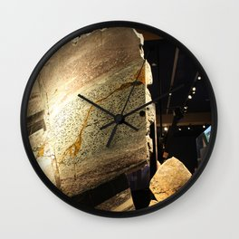Rock Structure Wall Clock