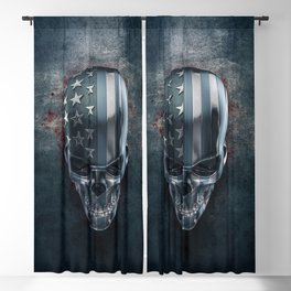 American Horror in Metal Blackout Curtain