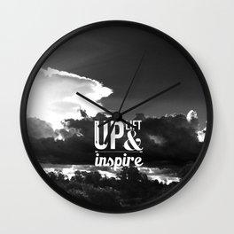 Up Lift & Inspire Wall Clock