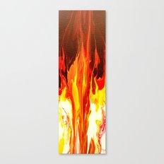 Fire - Modern Art  Canvas Print