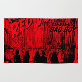 "The Perfect Red Velvet ""Bad Boy"" Rug"