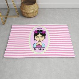 Viva la Frida anime Rug
