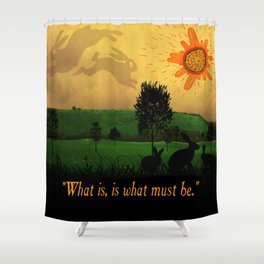 Watership Down Shower Curtain