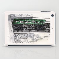 philippines iPad Cases featuring Philippines : Capitol Theater by Ryan Sumo