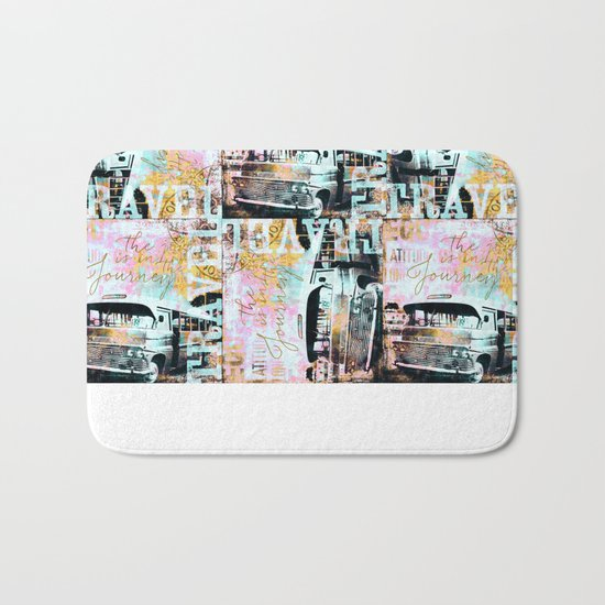 The Joy is in the Journey Bath Mat