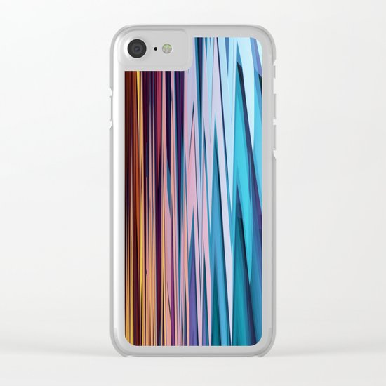 Water and Earth tones in an Abstract Clear iPhone Case