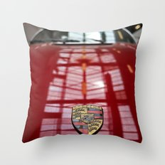 Porsche 911 / I Throw Pillow