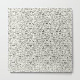 Sushi Metal Print