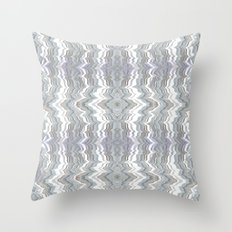 Water and Glass Throw Pillow
