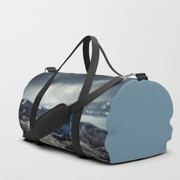 Little cars, Big Planet (Snow) Duffle Bag