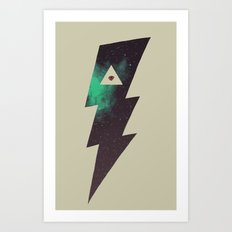 Dark Energy Art Print
