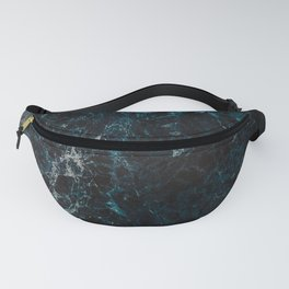 Paua Abalone Waves Fanny Pack