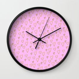 at the heart of the matter Wall Clock