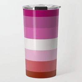 Lesbian Pride Travel Mug
