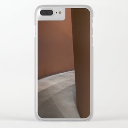 A Matter of Time Clear iPhone Case