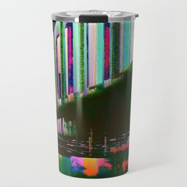 Dominos in the Sky with Rainbows Travel Mug