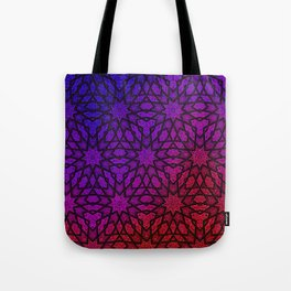 Nine fold pattern Tote Bag
