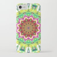 lime green iPhone & iPod Cases featuring Lime Green Citrus Abstract by Phil Perkins