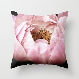 Glinda Pink Peony Throw Pillow