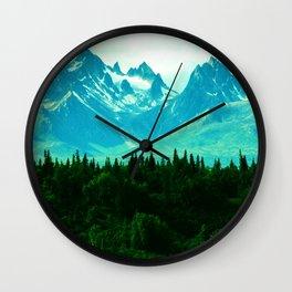 Adventure Mountain Wall Clock