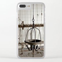 Baskets Clear iPhone Case