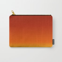 Red Autumn Gradient Carry-All Pouch