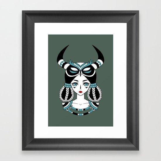 Owl Tribe Framed Art Print
