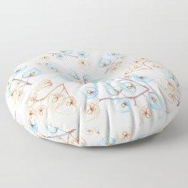 Botanical illustration Floor Pillow
