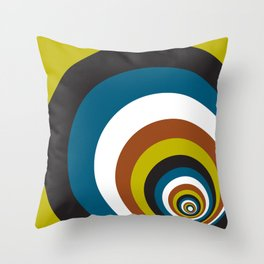 Spirally Throw Pillow