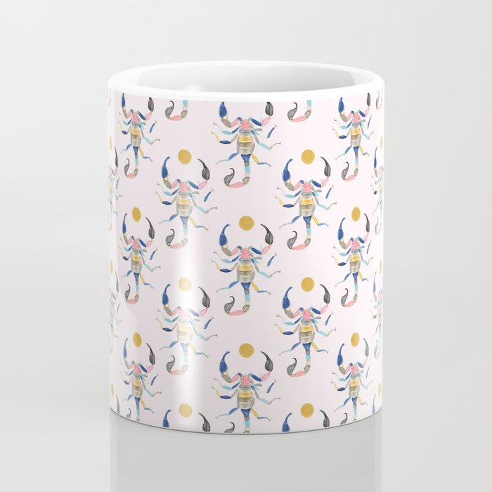 Technicolor Scorpion Coffee Mug