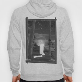 Moon waterfall Hoody