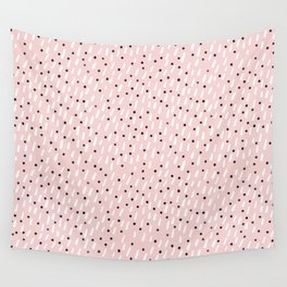spring rain Wall Tapestry