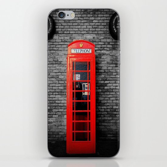 Old Bushmills Phone Box iPhone & iPod Skin