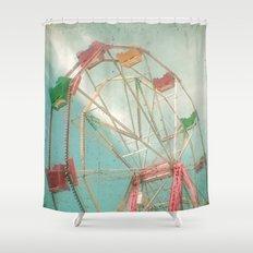 Big Wheel II Shower Curtain