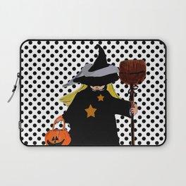My Little Witch, Halloween Costume Laptop Sleeve