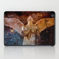 angel iPad Cases featuring angel  by mark ashkenazi