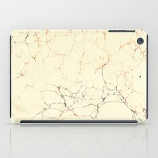 Marbled Cream iPad Case