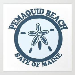 Pemaquid Beach. Art Print
