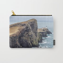 Lighthouse rock ocean Carry-All Pouch