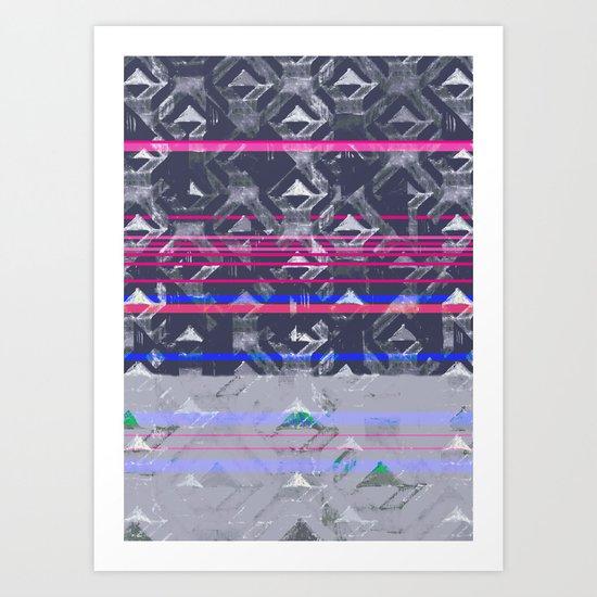 Tri Seas Art Print