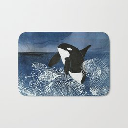 Killer Whale Orca Bath Mat