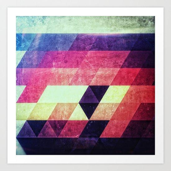 dystryssd bryyyts Art Print