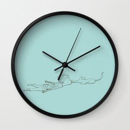 Enyaugh! Wall Clock
