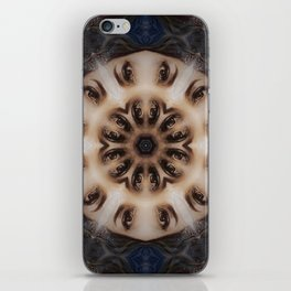 All Eyes on Me // Visionary Trippy Witchy Eye Mandala Face Anatomy Magical Magick Circle iPhone Skin