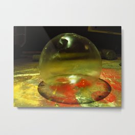 Frozen bubble II Metal Print