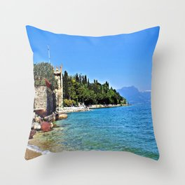 Sirmione - Lake Garda Throw Pillow