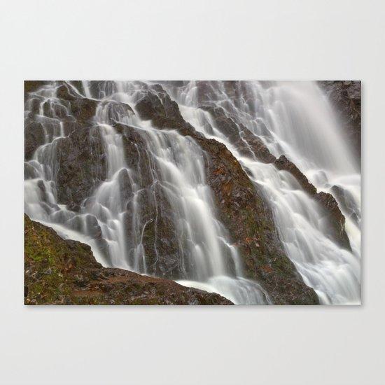Hays Cascading Falls Canvas Print