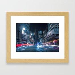 City Trails Framed Art Print