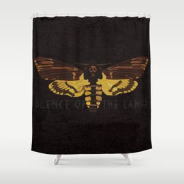 Hannibal Death's-head Hawkmoth  Shower Curtain