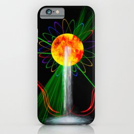 Light and water iPhone Case